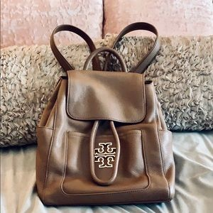 Host Pick Tory Burch Britten leather backpack